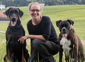 Hundetrainerin Daniela Endres